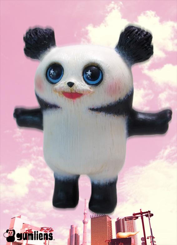 パンダキャラクターデザイン画像