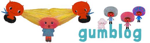 キャラクターイラスト|gumliens ガムブログ
